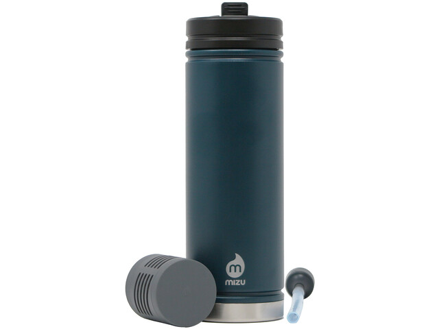 MIZU V7 360 Adventure Kit Insulated Bottle 620ml, azul